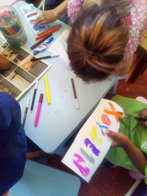 Metadrasi - Γράφω το όνομά μου στα ελληνικά Δράση του μήνα