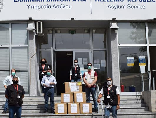 Metadrasi - METAdrasi masks donation s