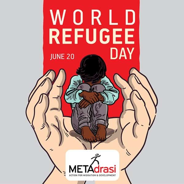 Metadrasi - metadrasi world refugee day 2020