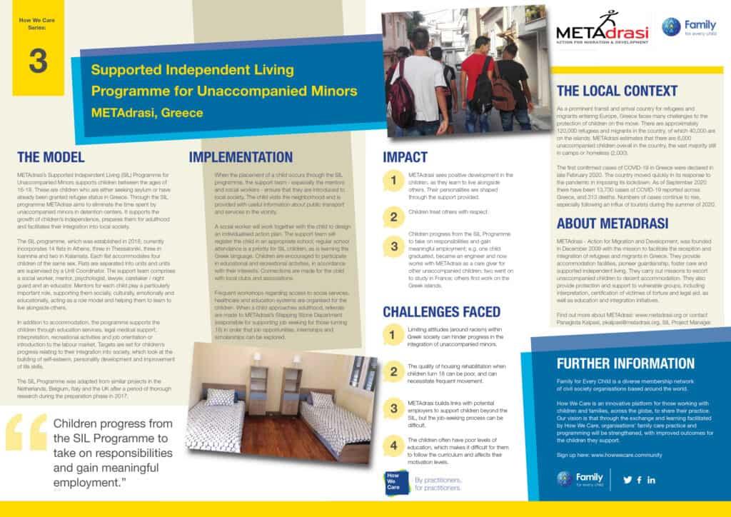 Metadrasi - Briefing paper METAdrasi English